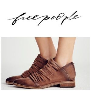 Free People Lost Valley Strappy Ankle Boot Size 10